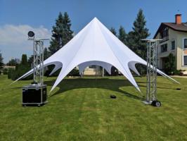 Палатка Звезда 14м Палатка открытого типа, для отдыха БОЛЬШАЯ на 80 человек