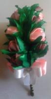Обруч для волос «Букет роз»