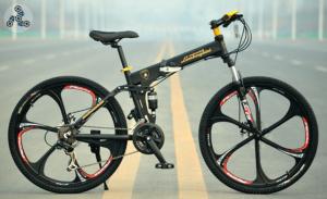 Элитный Велосипед LAMBORGHINI G7 Black на литых дисках