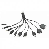 Универсальная USB-зарядка для телефонов 10 in 1