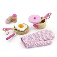 Набор «Маленький Повар» Розовый, Viga Toys (50116)