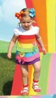 Летнее платье-туника для девочки