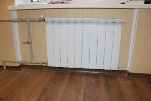 Замена радиаторов отопления в Днепропетровске, замена батарей отопления