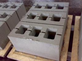 Шлакоблок рядовой строительный