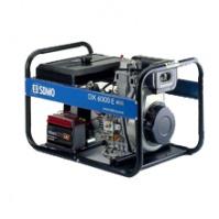Генератор дизельный SDMO DX 6000E 5,2 кВт однофазный
