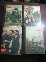 Годовая подшивка журналов Огонек за 1954 год