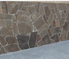 Укладка камня песчаника плитняка кварцита в Днепропетровске и Новомосковске.