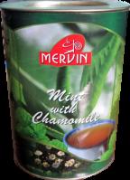 Чай Mervin Зелёный Мята и Ромашка 100 грам