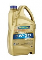 Моторное масло RAVENOL WIV III SAE 5W-30 (канистра 4 л)