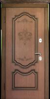 Входные двери ПРЕСТИЖ темный орех