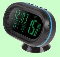 Часы (электронные с датчиком температуры и вольтметром)
