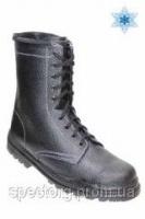Ботинки рабочие утепленные ОМОН юфть-кирза