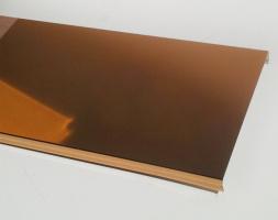 Реечный потолок алюминиевый 85мм, длина 4м, золото