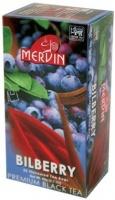 Чай Mervin черный Черника пакетированный 25*2 грам