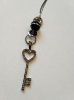 Колье ключик с цирконием арт: Т 717