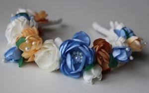 Обруч для волос «Лепестки счастья» от автора handmade Анны Юриной