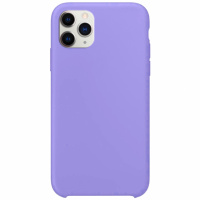 Чехол Silicone Case without Logo (AA) для Apple iPhone 11 Pro Max (6.5«) Сиреневый / Dasheen