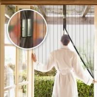 Антимоскитная сетка шторы на дверь Magic Mesh на магнитах