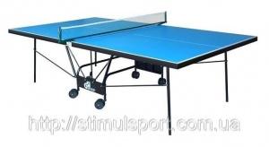 Всепогодный теннисный стол Gs-2 ( 2 ракетки и шарики )+ Бесплатная доставка по Украине (ТК «Деливери»)
