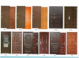 Обшивка, реставрация, утепление металлических дверей