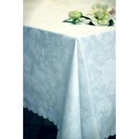 112Скатерть 140х140 , колекция «Simfoni–Біла троянда» с акриловым покрытием,