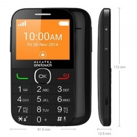Alcatel 2004C Black