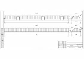 Проектування ангарів, складів з легких металоконструкцій