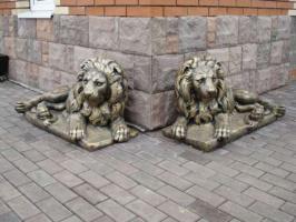 Скульптура садовая, фигура зверей и птиц парковая, для сада, двора (дачи)