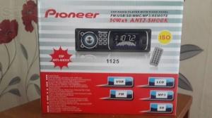 Автомагнитола Pioneer 1125 USB, SD, FM, AUX