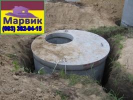 монтаж переливочной ямы Киев
