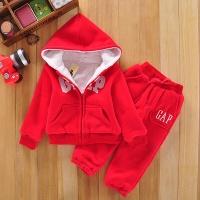 Детский утепленный костюм Gap, красный
