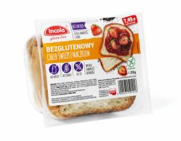 Безглютеновый свежий хлеб с маком 210 г