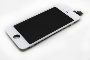 LCD iPhone 4S with touch and frame + back cover white (прозрачный) orig