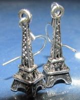 Серьги «Эйфелева башня»