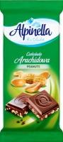 Шоколад Alpinella Альпинелла молочный с орехом 90г