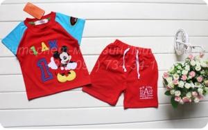 Шорты и футболка для мальчика «Минни Маус»