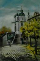 Андреевская церковь осенью