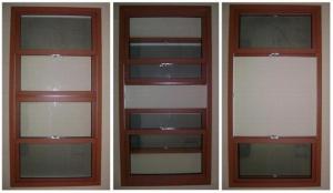 Металлопластиковые подъемные окна .