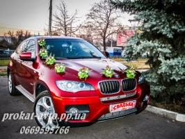 ЗАКАЗ VIP МАШИН BMW X6 НА СВАДЬБУ И ЛЮБОЙ ПРАЗДНИК в Харькове - PROKAT-AVTO