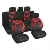 Чехлы на сидения автомобиля MILEX Ranger красные