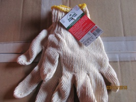Перчатки рабочие (белые) Долоні