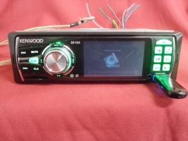 Автомагнитола KENWOOD 3015 1DIN, LCD, DivX, USB, SD, MP3, MP4