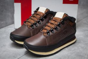 Зимние кроссовки на меху в стиле New Balance 754, коричневые (30263),  [  41 42 43 44 45  ]
