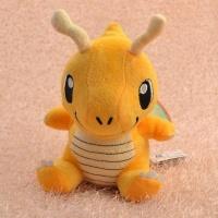 Покемон Драгонайт (Dragonite) плюшевая игрушка, 22 см