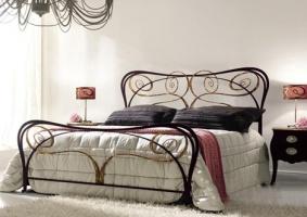 Кованая кровать «Рондо»