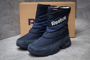 Зимние ботинки в стиле Reebok  Keep warm, темно-синий (30273),  [  37 38 39 40 41  ]