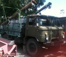 Опрыскиватель самоходный «Аerounion» б/у на базе ГАЗ-66