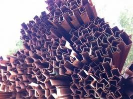 Профили гнутые корытные равнополочные сталь1-3, 09Г2,09Г2Д