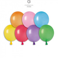 Воздушные шары бомбочки Gemar пастель ассорти 3'' 8 см