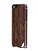 Alloy X Wood для iPhone 5, Titanium Gray